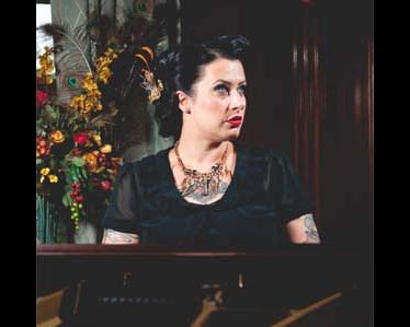 Davina at the Piano