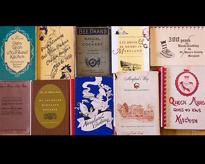 Collection of Maryland cookbooks