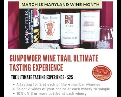 Gunpowder Trail Ultimate Tasting Experience poster