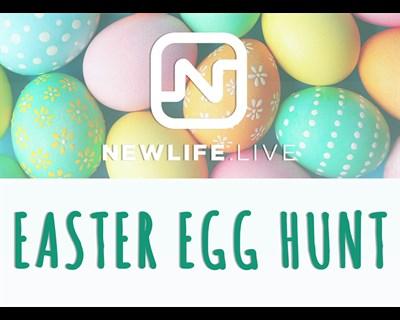 NewLife Easter Egg Hunt poster