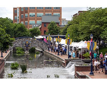 Wine Festival at Carroll Creek Park