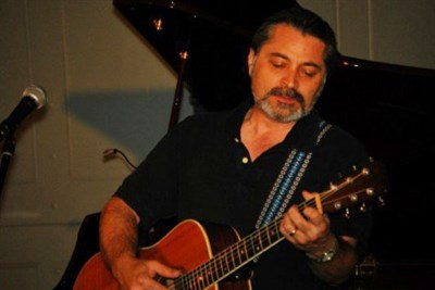 Singer/songwriter and guitarist Rick LaRocca