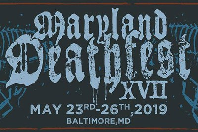 Maryland Deathfest 2019 flyer