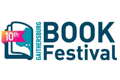 10th Annual Gaithersburg Book Festival poster