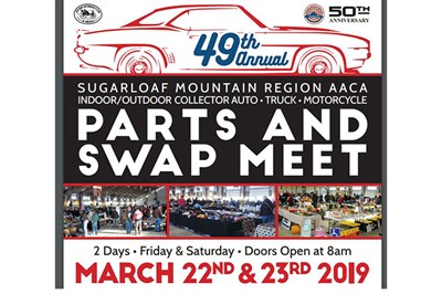 Antique Auto Swap Meet poster