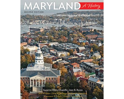 """""""Maryland: A History"""" Book Cover"""