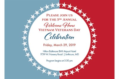 Welcome Home Vietnam Veterans Day Card