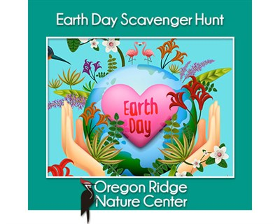 Earth Day Scavenger Hunt poster