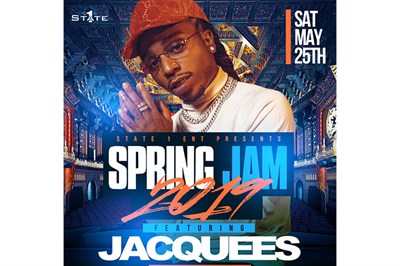 Spring Jam 2019 Featuring Jacquees poster