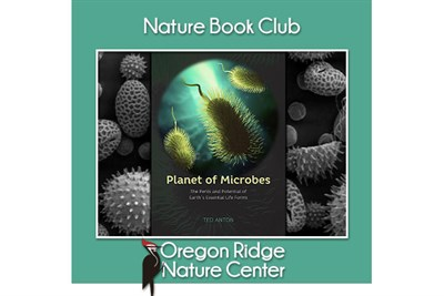 Nature Book Club – Planet of Microbes poster