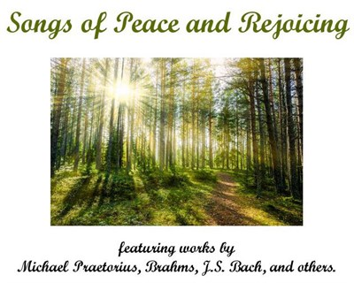 Songs of Peace and Rejoicing poster