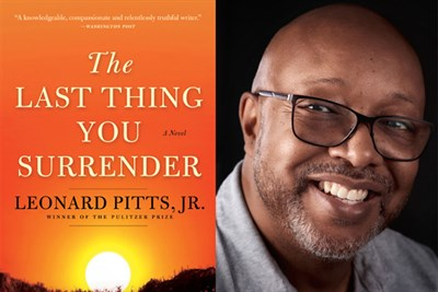 Leonard Pitts, Jr., and the book jacket