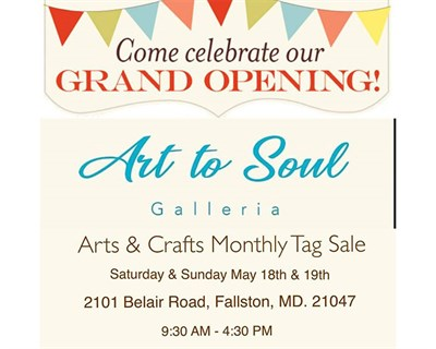 Art to Soul Grand Opening poster