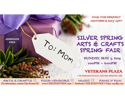 Arts & Crafts Spring Fair poster