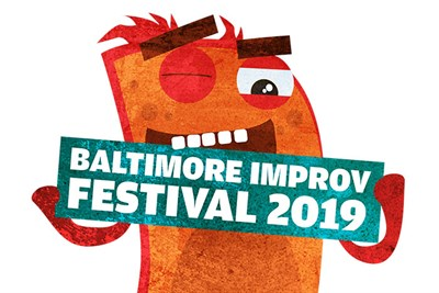 The Baltimore Improv Festival logo