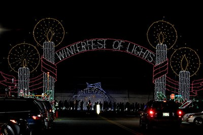 Winterfest Entrance Lights