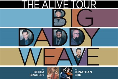 Big Daddy Weave Tour poster