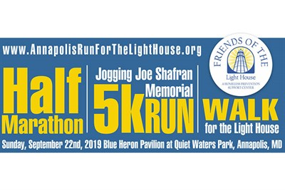 Run for The Light House Banner