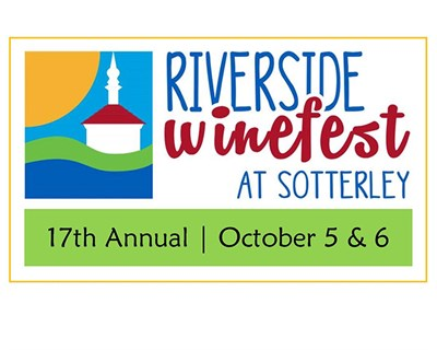 The 17th Riverside WineFest at Sotterley banner