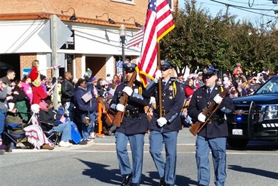 The Annual Veterans Day Parade in Leonardtown