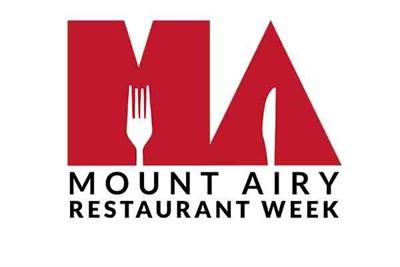 Mount Airy Restaurant Week logo