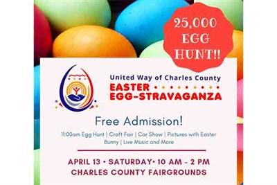 UWCC Easter Egg-stravaganza Flyer