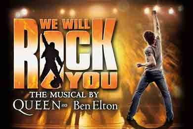 We will Rock You - Queen Musical poster