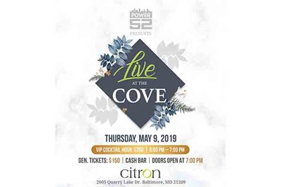 Live! at the Cove flyer