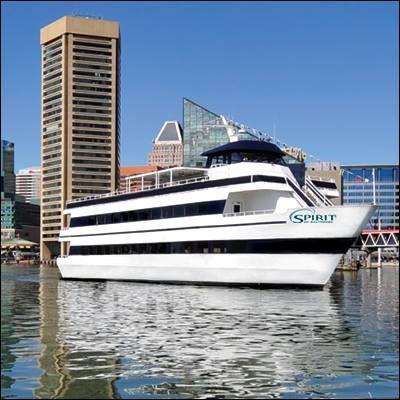 Spirit of Baltimore in the Inner Harbor
