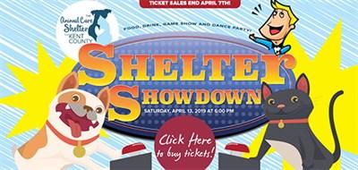 poster for Shelter Showdown event