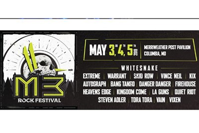 M3 Rock Festival poster