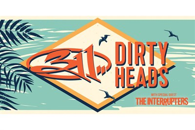 311 & Dirty Heads poster