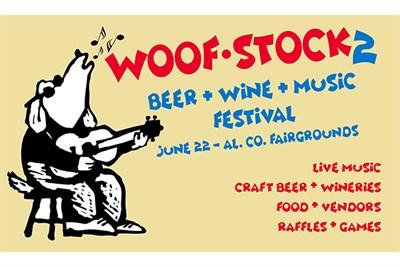 Woof-Stock Festival poster