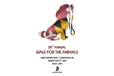Walk for the Animals poster