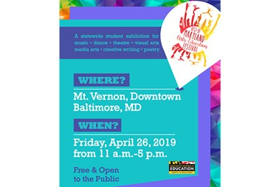 The Best of Maryland Arts Festival poster
