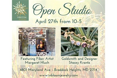 InBloom Jewelry Spring Open House poster