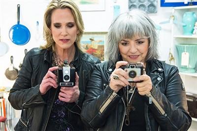 Lynn Miles and Lynne Hanson
