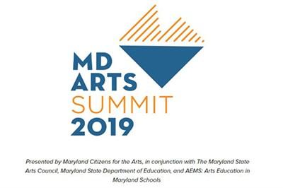 Maryland Arts Summit 2019 logo