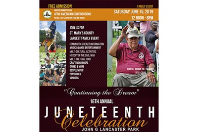 Juneteenth Celebration flyer