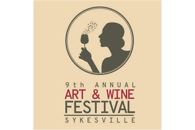 Sykesville Art and Wine Festival poster