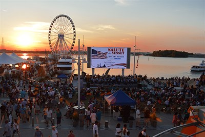 Sunset Concert at National Harbor