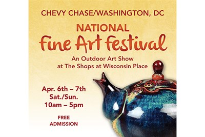Chevy Chase National Fine Art Fair Poster