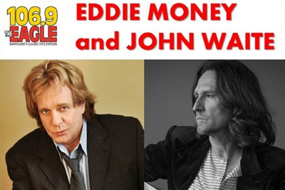 Eddie Money and John Waite poster