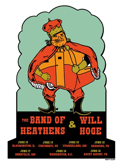 Band of Heathens; Will Hoge