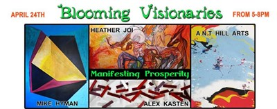 Blooming Visionaries poster