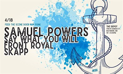 Samuel Powers/Say What You Will/Front Royal/SKAPP