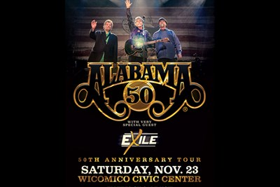 Alabama Anniversary Tour with Special Guest Exile poster