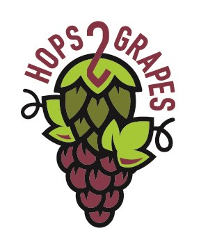 Hops 2 Grapes logo