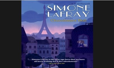Cover of the book, Simone LaFray and the Chocolatiers' Ball