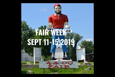 Anne Arundel County Fair Sculpture of a Farmer